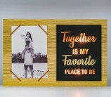 "Fotografia 10х15 с подсвет""Together is my favorite place to be"",FFL-841/12 AA(4)"