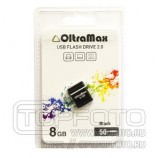 Накопитель 8GB USB OltraMax 50 Mini series black